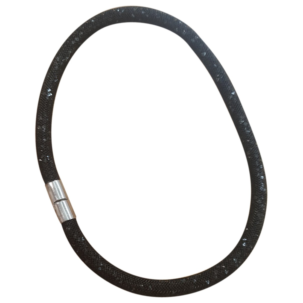 Swarovski - Bracelet Stardust pour femme en argent - noir