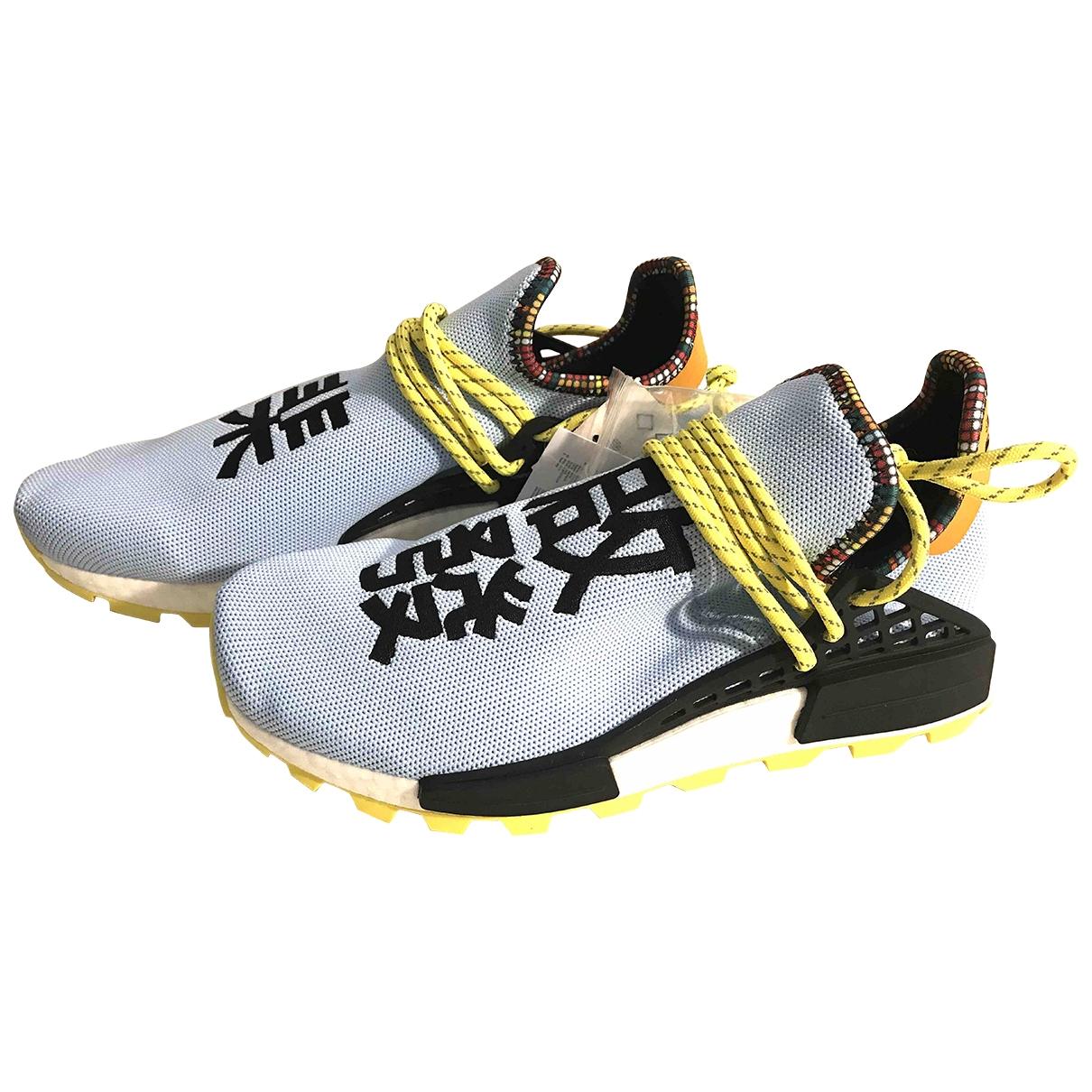 Adidas X Pharrell Williams NMD Hu Sneakers in  Bunt Kautschuk