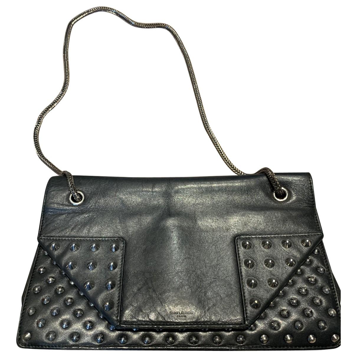 Saint Laurent Betty Handtasche in  Schwarz Leder