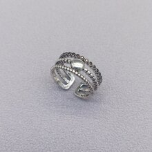 Hollow Out Cuff Ring