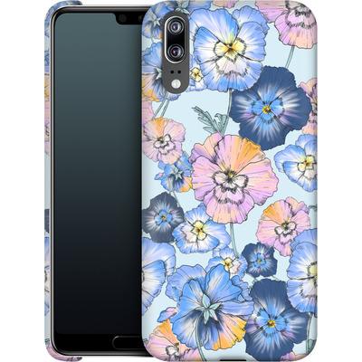 Huawei P20 Smartphone Huelle - Pretty Pansy von Stephanie Breeze