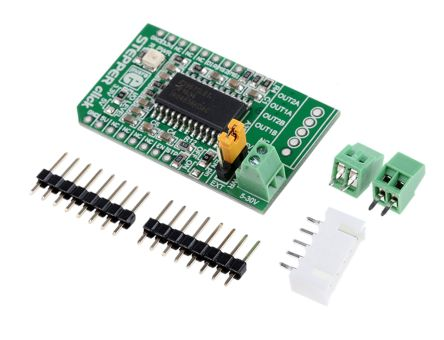 MikroElektronika MIKROE-1528 Click Shield Stepper Motor Shield for MIKROE-1528