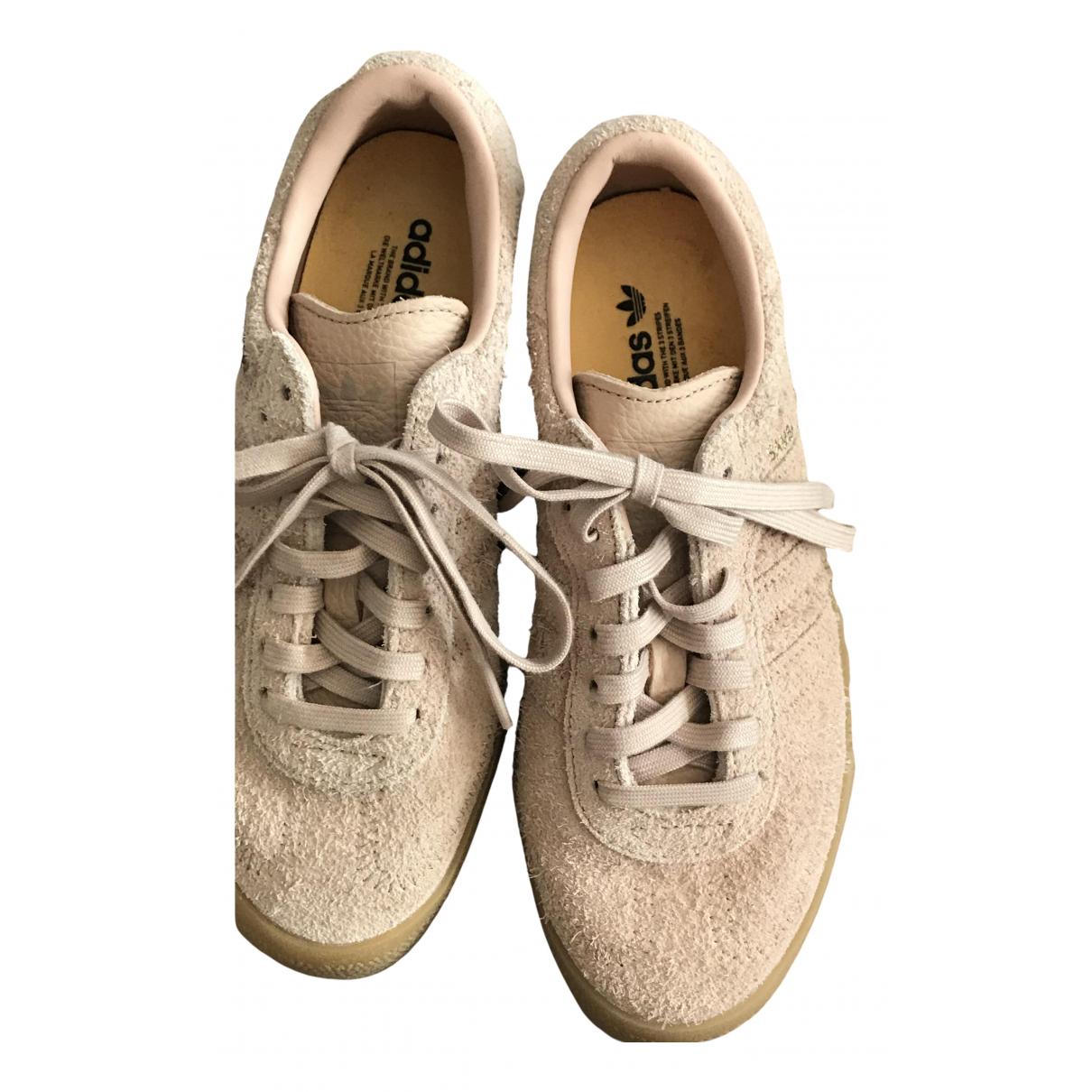 Adidas Samba Sneakers in  Rosa Veloursleder