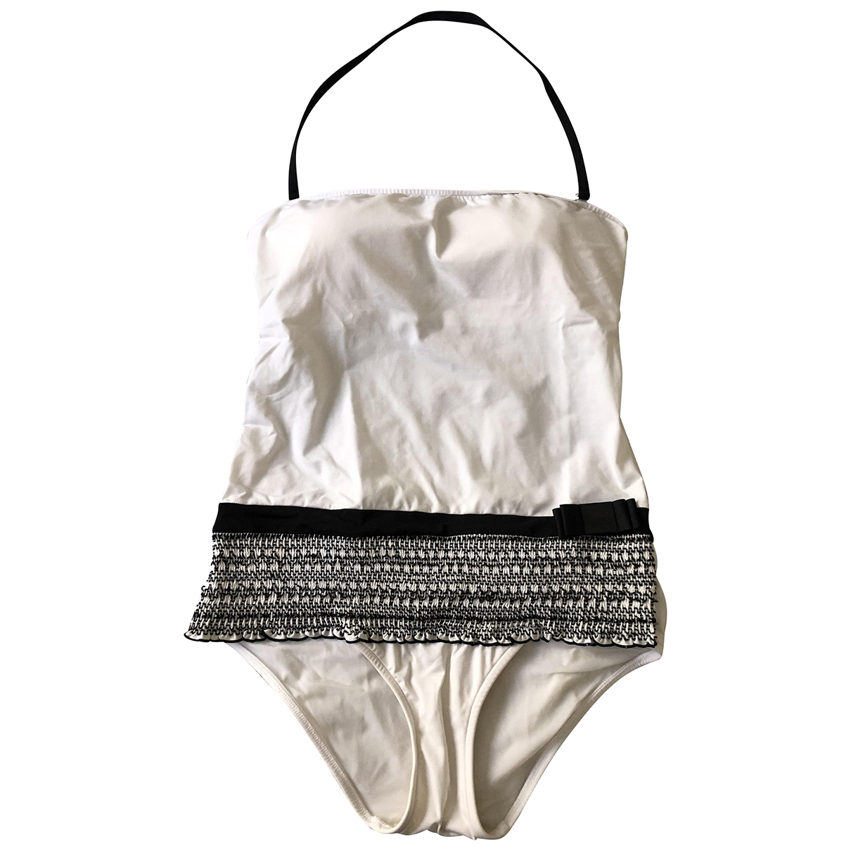 Andres Sarda \N White Lycra Swimwear for Women 40 FR