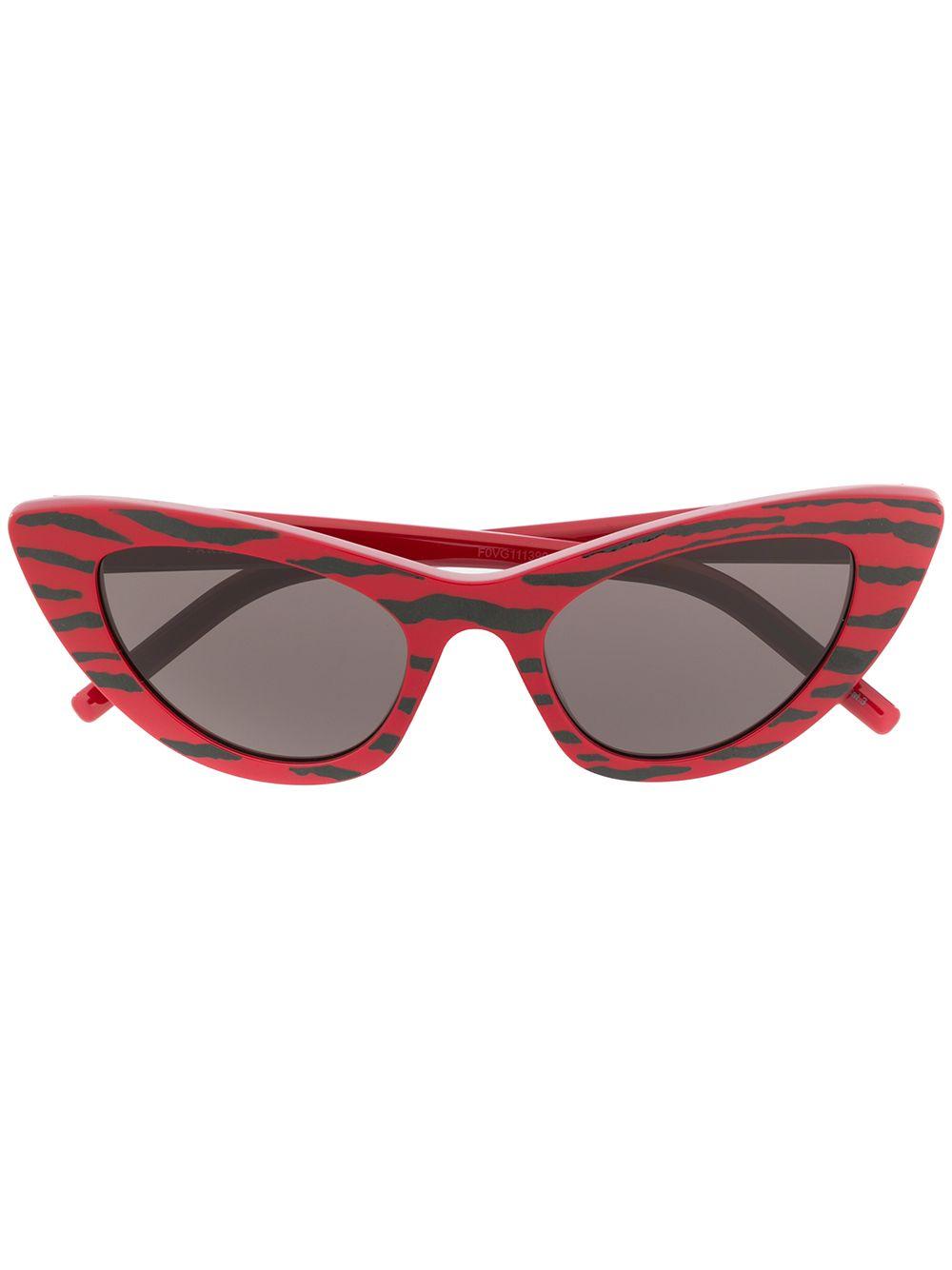 Zebra Print Sunglasses