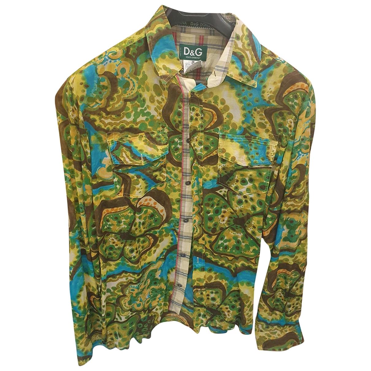 D&g - Chemises   pour homme en coton