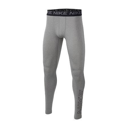 Nike Big Boys Skinny Pull-On Pants, Large , Gray