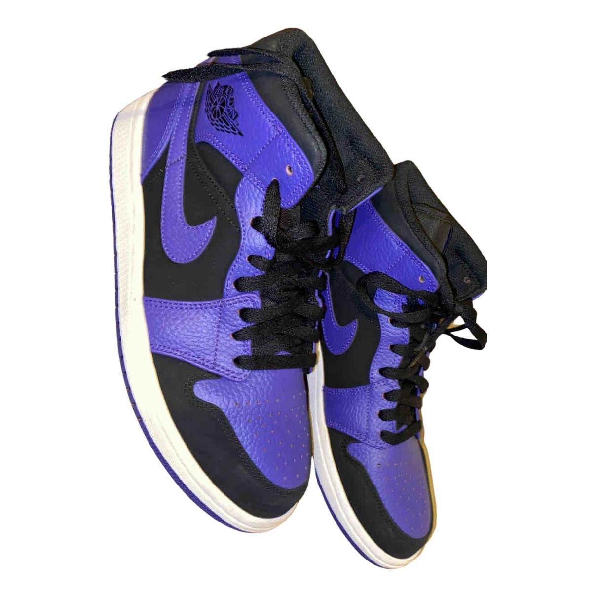 Jordan - Baskets   pour femme en cuir - violet
