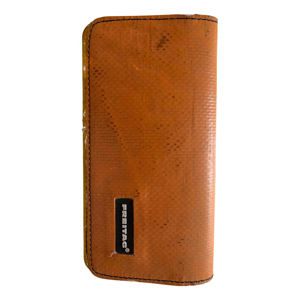 Freitag N Orange Cloth wallet for Women N