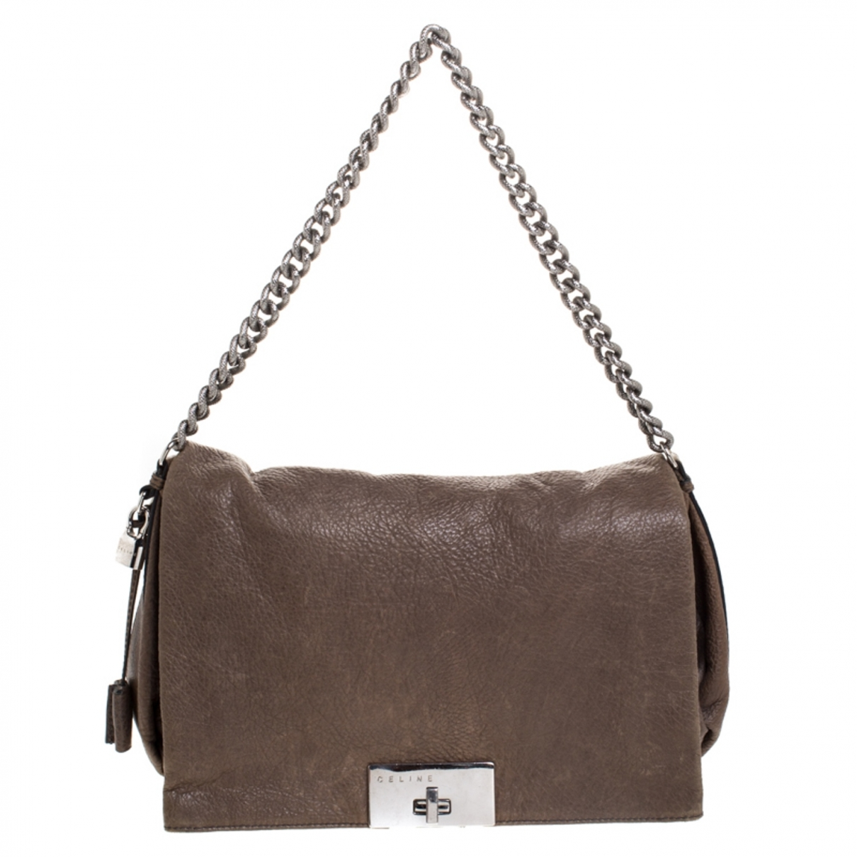 Celine \N Beige Leather handbag for Women \N