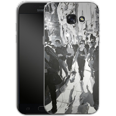 Samsung Galaxy A5 (2017) Silikon Handyhuelle - It Was the Dog von Tom Christopher