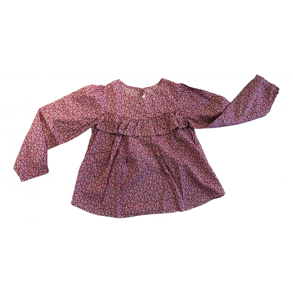 Jacadi - Top   pour enfant en coton - rose