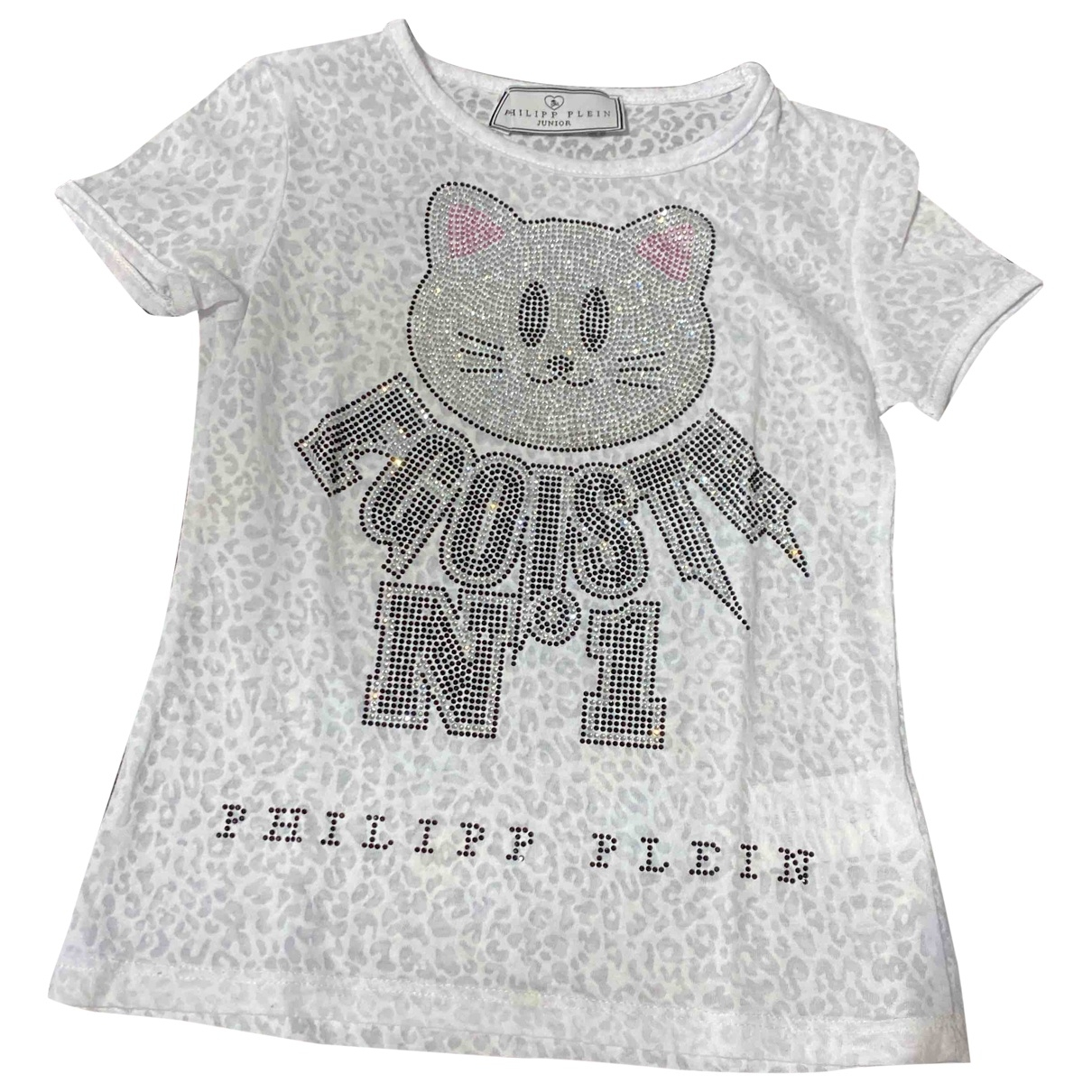 Philipp Plein \N White Cotton dress for Kids 5 years - up to 108cm FR