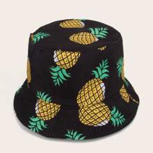 Pineapple Pattern Bucket Hat