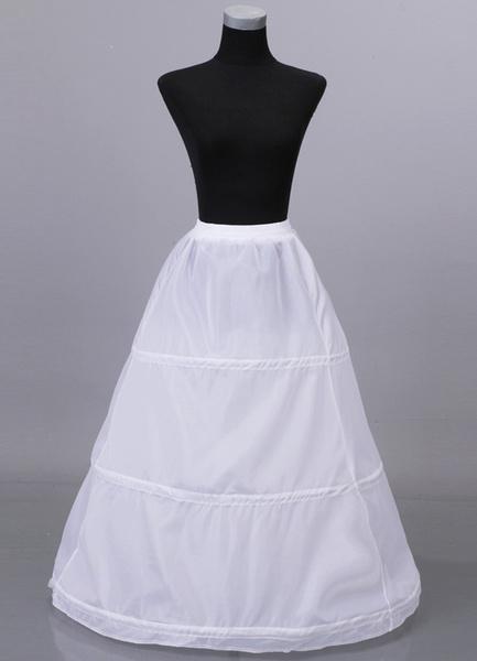 Milanoo Floor Length One Layer Net Wedding Petticoat