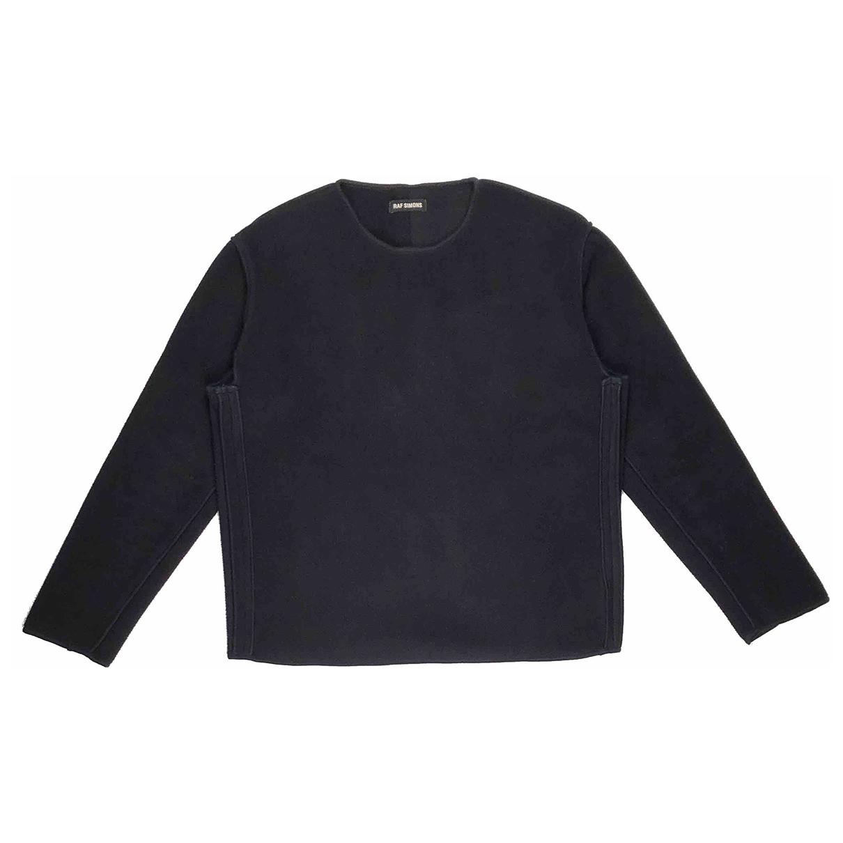 Raf Simons \N Pullover.Westen.Sweatshirts  in  Schwarz Polyester