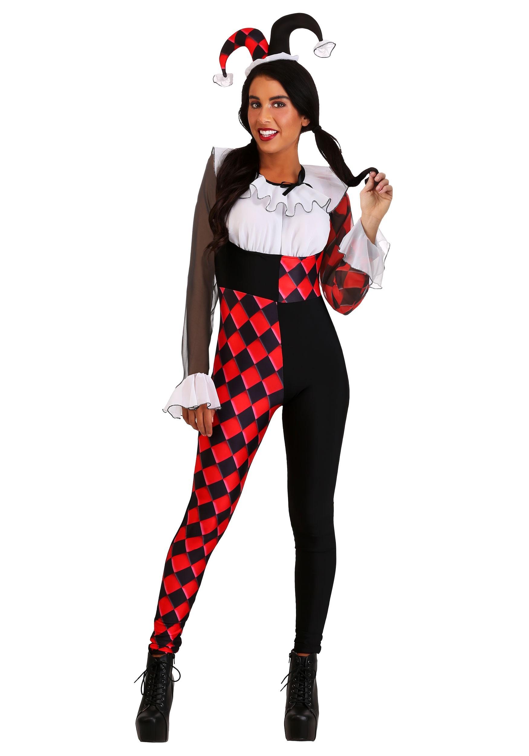 Chiffon Harlequin Costume for Women