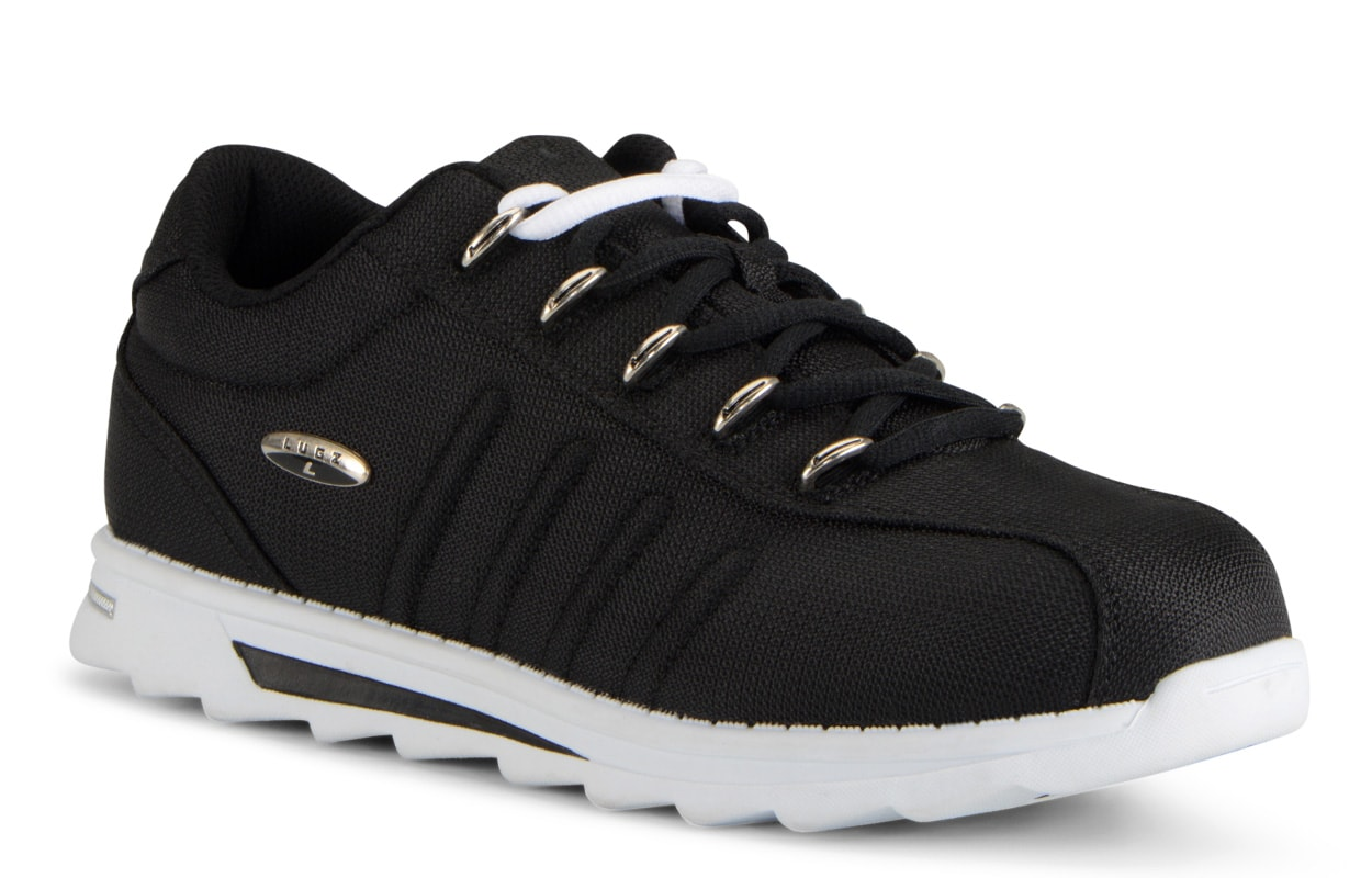 Men's Changeover II Ballistic Oxford Sneaker (Choose Your Color: Black/White, Choose Your Size: 10.0)