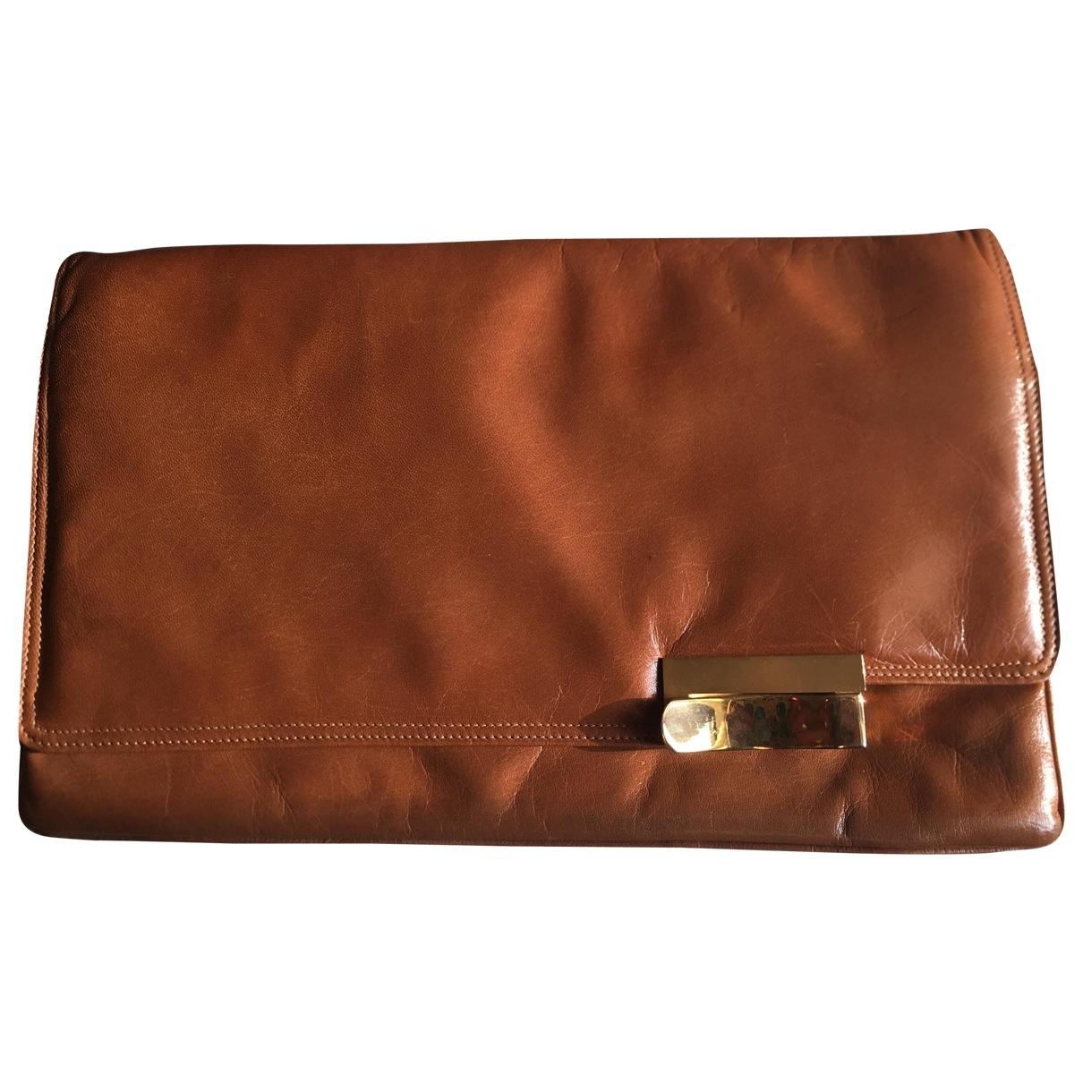 Bottega Veneta \N Brown Leather Clutch bag for Women \N