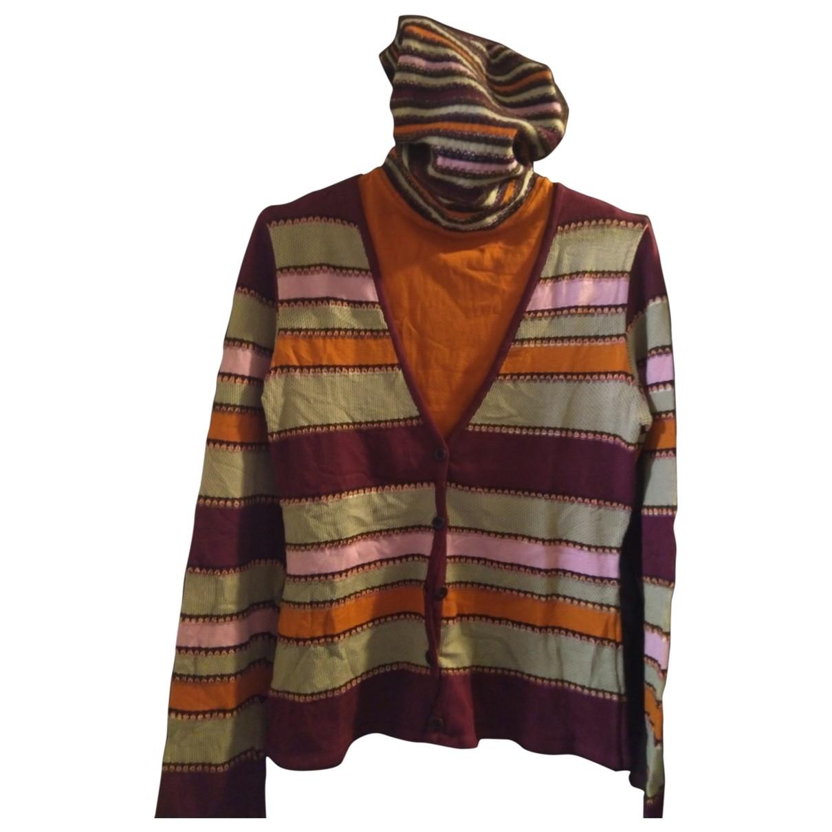 Missoni \N Pullover in  Orange Wolle