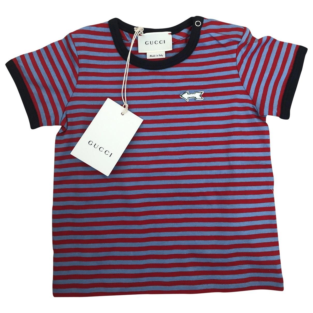 Gucci - Top   pour enfant en coton - multicolore
