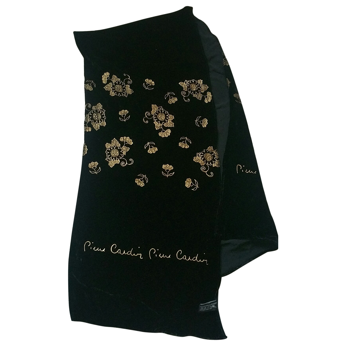 Pierre Cardin \N Black scarf for Women \N