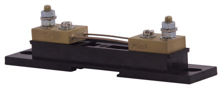 Sifam Tinsley Brass-Ended Shunt, 10 A, 75mV Output