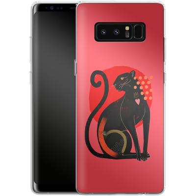 Samsung Galaxy Note 8 Silikon Handyhuelle - Spirit Animal von Victoria Topping