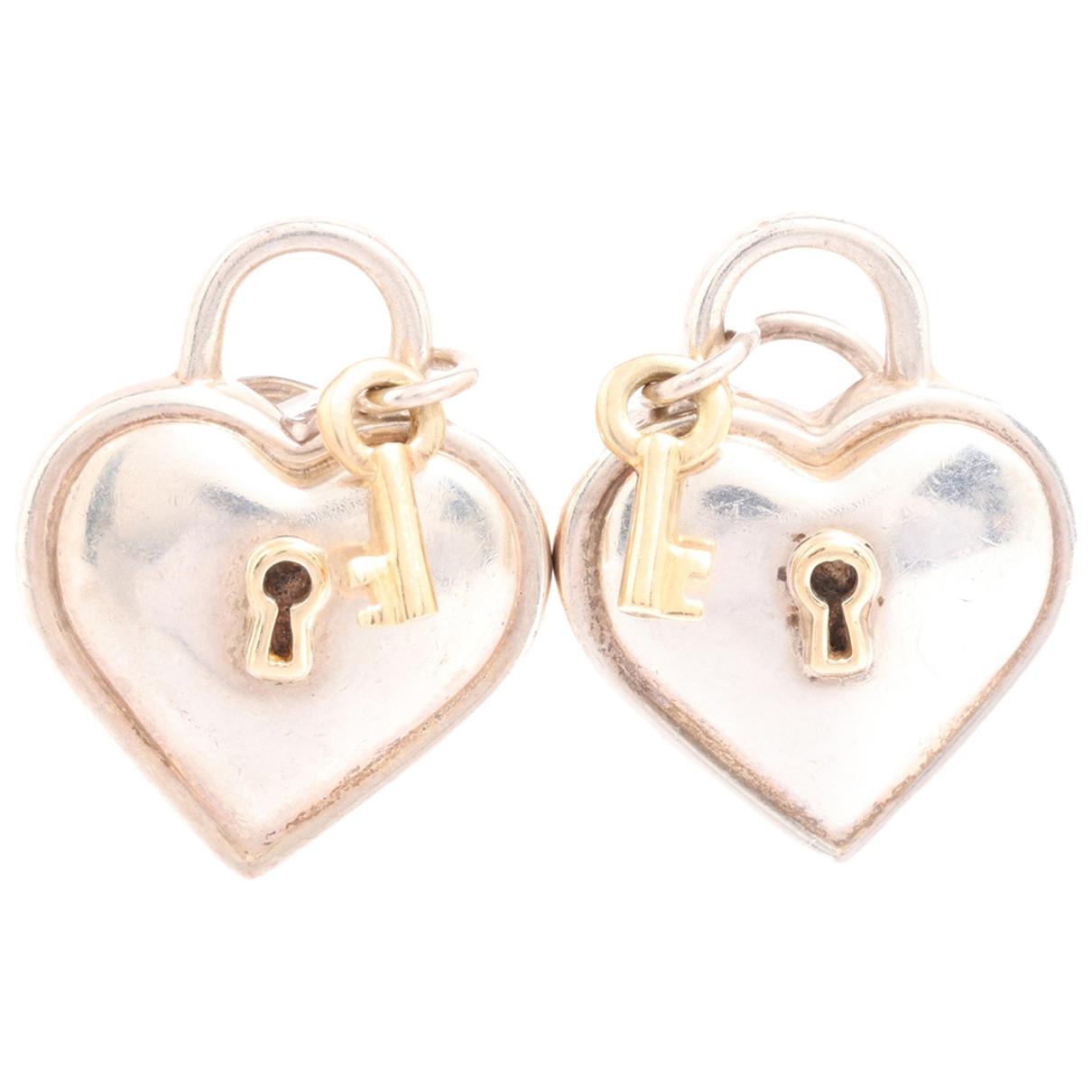 Tiffany & Co - Boucles doreilles   pour femme en autre - argente