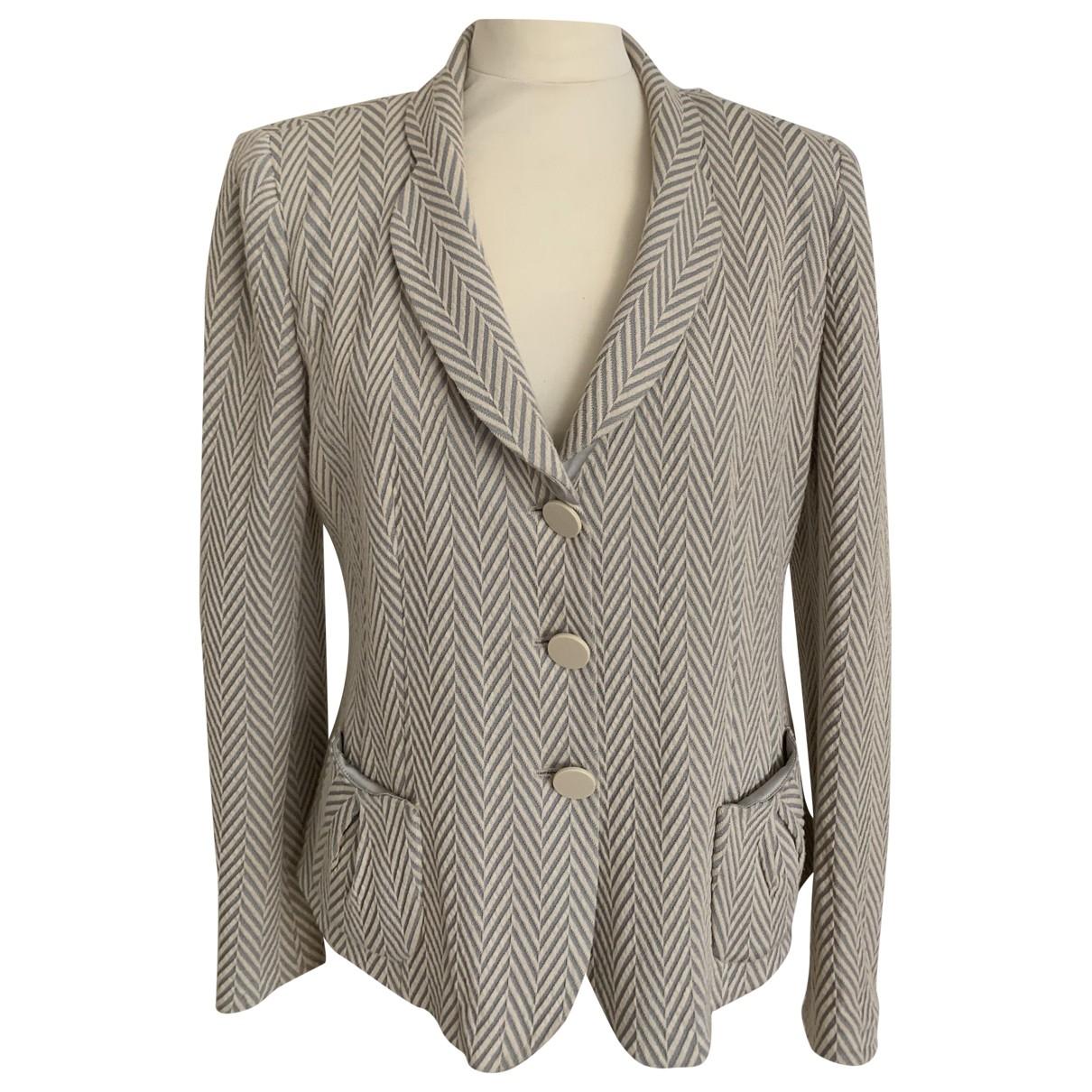Armani Collezioni \N Multicolour Cotton jacket for Women 48 IT