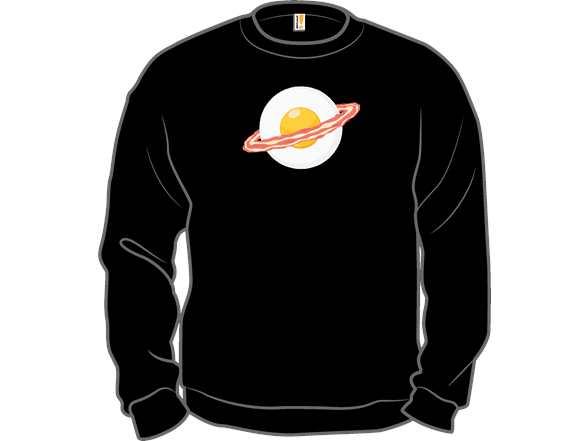 Outer Space Breakfast T Shirt