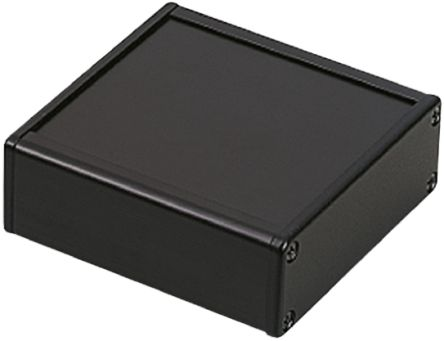 Takachi Electric Industrial CH, Black Aluminium Enclosure, 65.5 x 250 x 168.5mm
