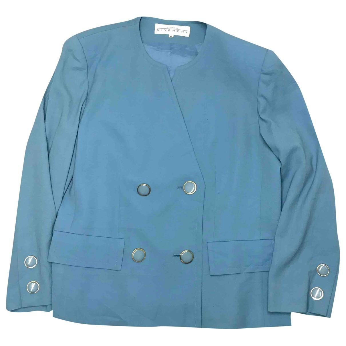 Givenchy - Veste   pour femme - bleu