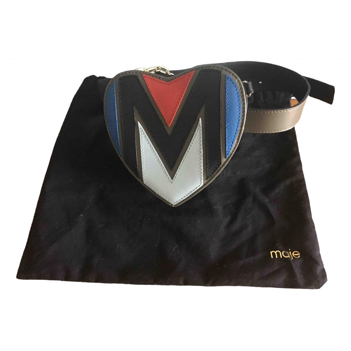 Bolsos clutch en Piel Multicolor Maje