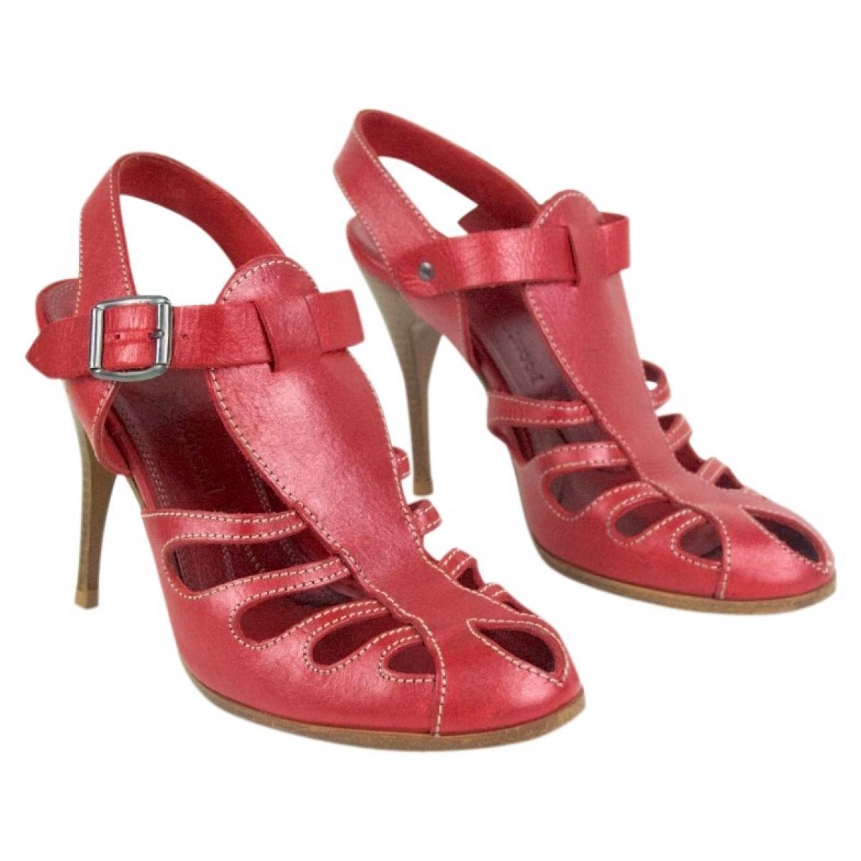 Vivienne Westwood - Escarpins   pour femme en cuir - metallise