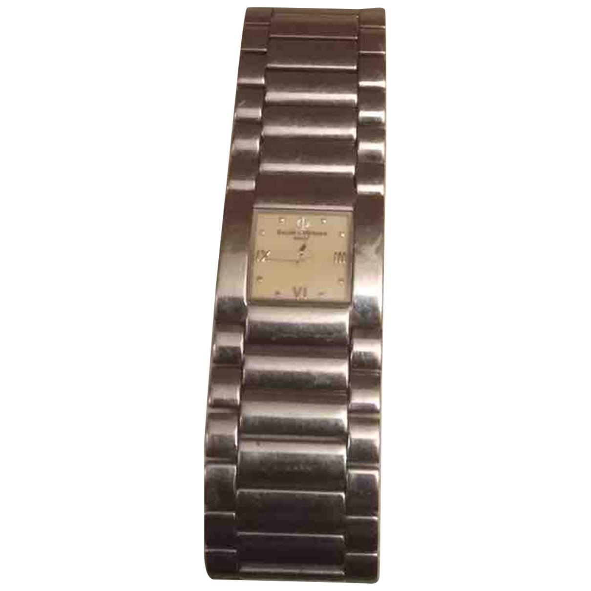 Baume Et Mercier Catwalk Uhr in  Silber Stahl