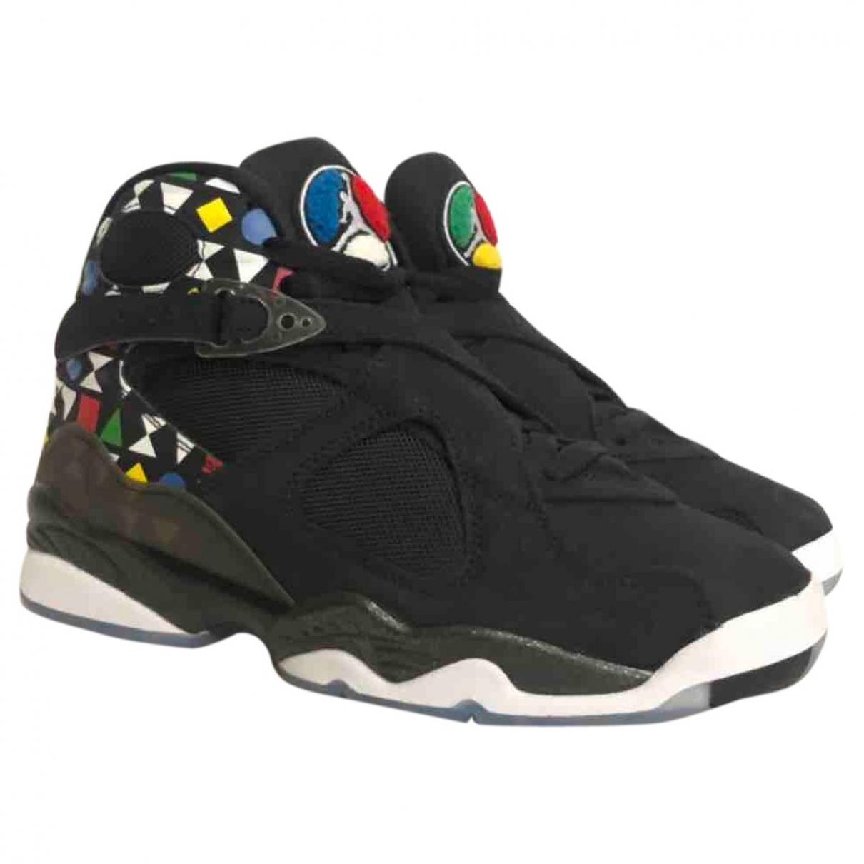 Jordan \N Sneakers in Leder