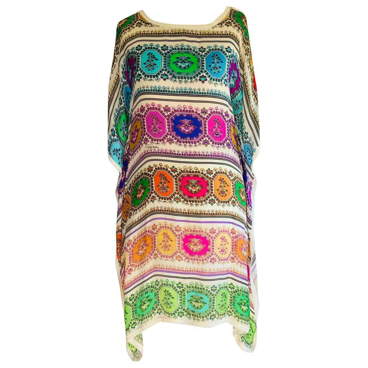 Roberto Cavalli \N Multicolour Silk  top for Women 44 IT