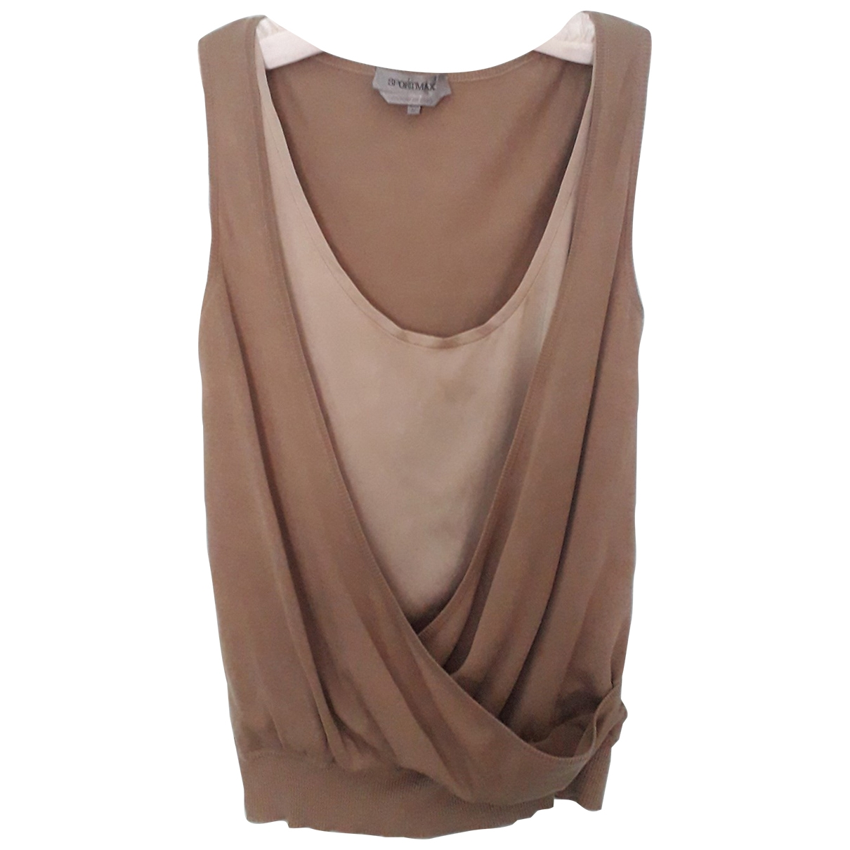 Sport Max \N Camel Cotton  top for Women M International