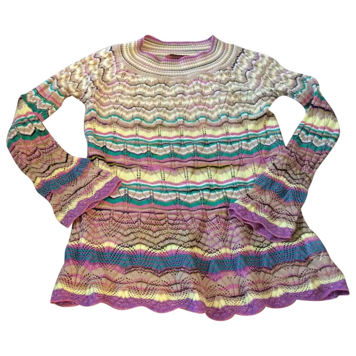 Missoni - Pull   pour enfant en coton - multicolore