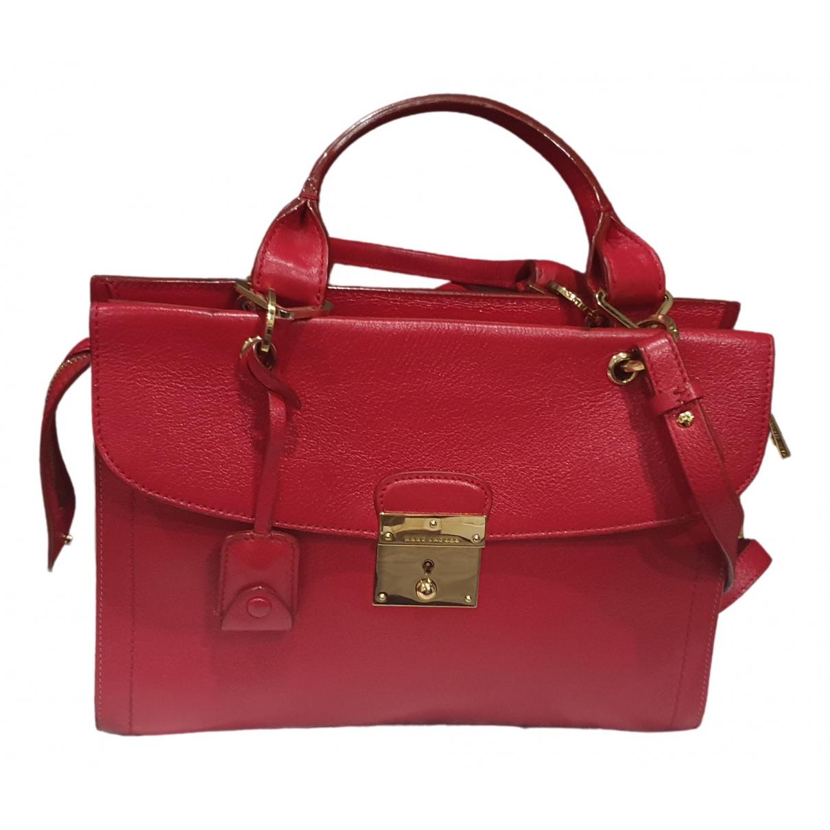 Marc Jacobs \N Handtasche in  Rot Lackleder