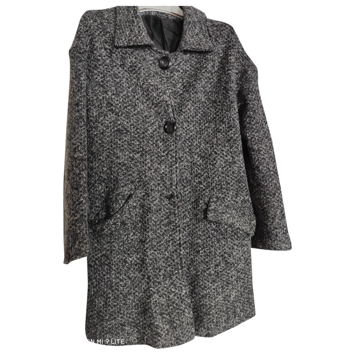 Non Signé / Unsigned \N Grey Cotton coat for Women S International