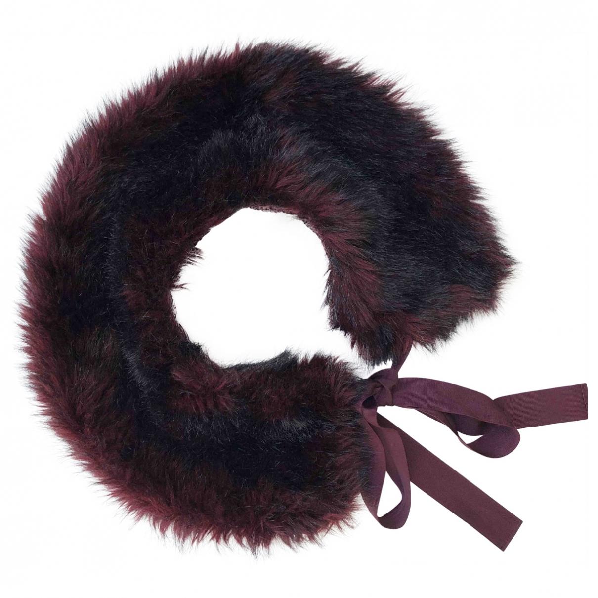 Nina Ricci \N Burgundy scarf for Women \N