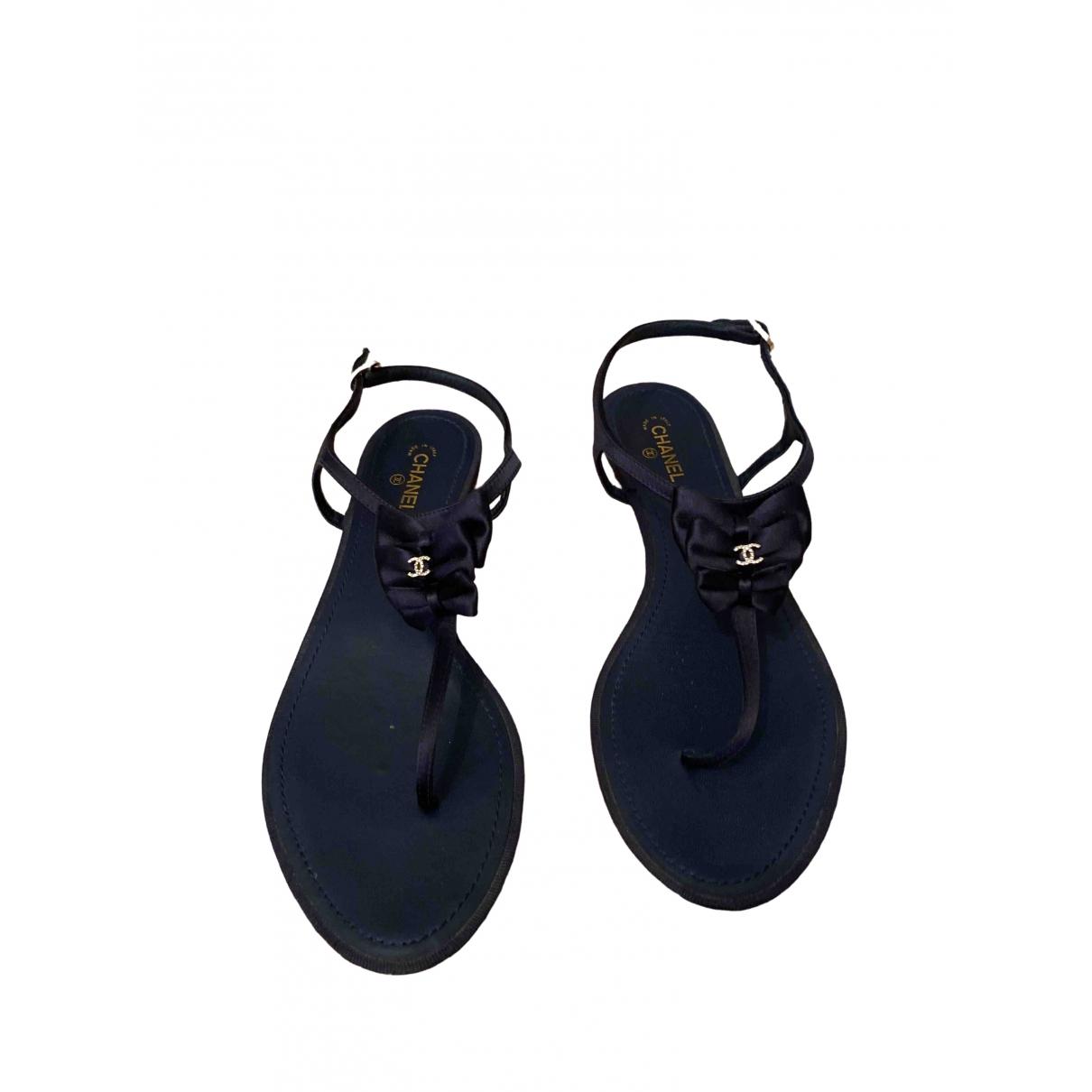 Chanel \N Blue Sandals for Women 40 EU