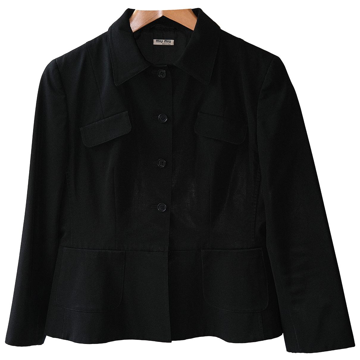 Miu Miu N Black jacket for Women 44 IT