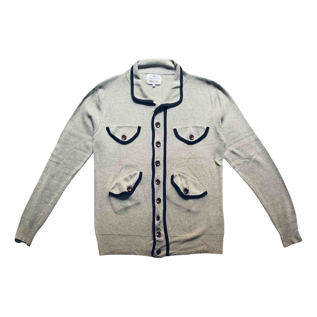 Vivienne Westwood \N Pullover.Westen.Sweatshirts  in  Grau Baumwolle