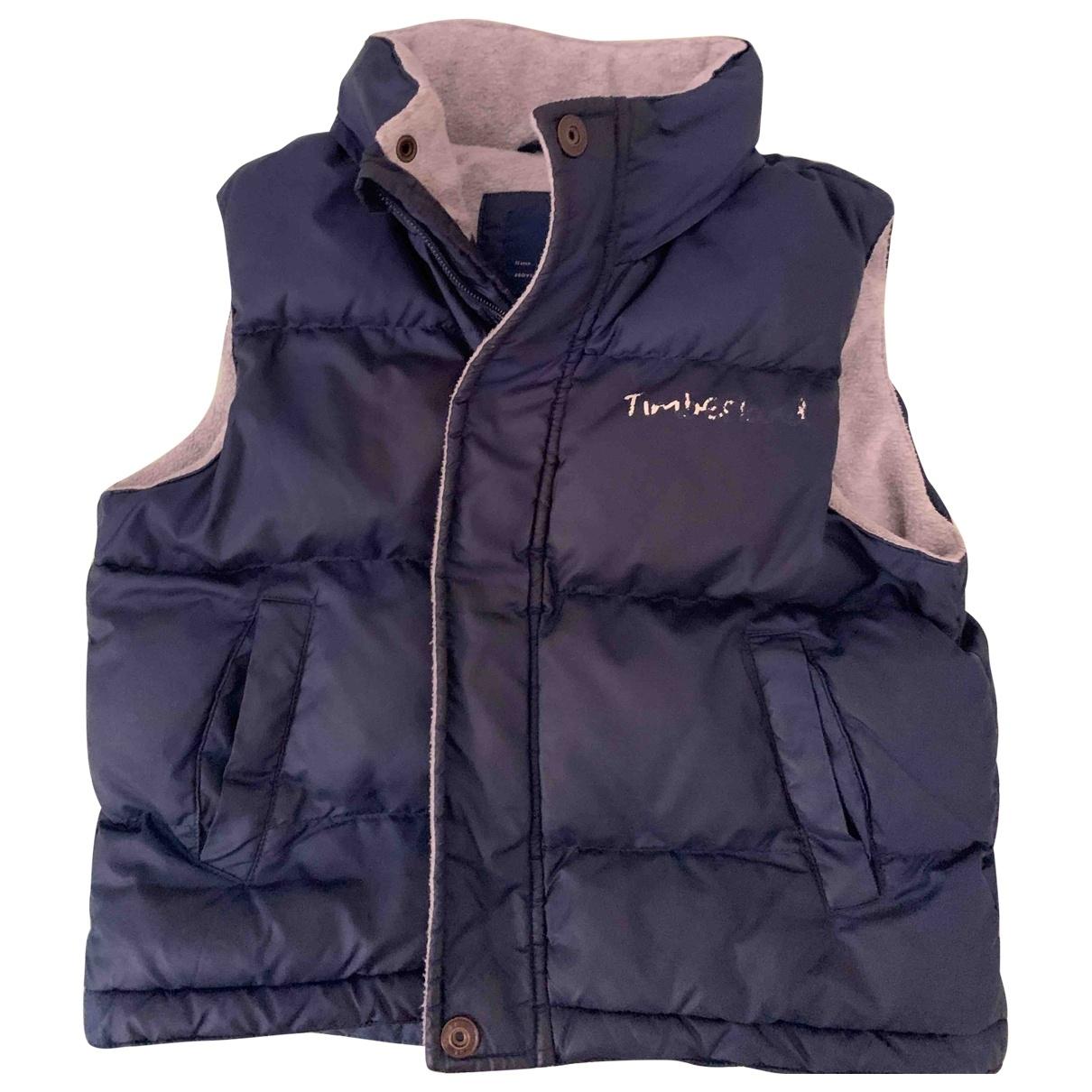 Timberland - Blousons.Manteaux   pour enfant - marine
