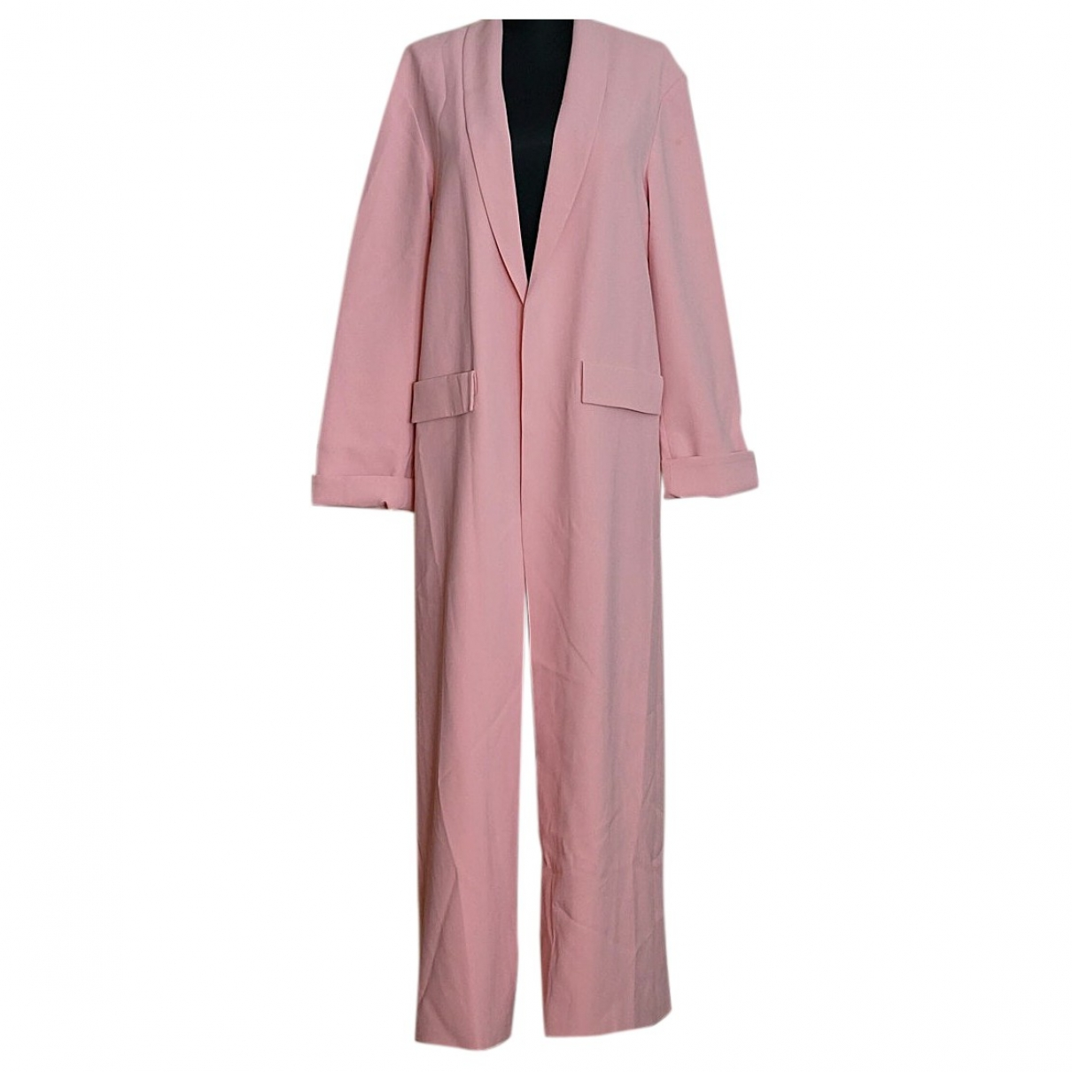Alice & Olivia \N Trench in  Rosa Polyester