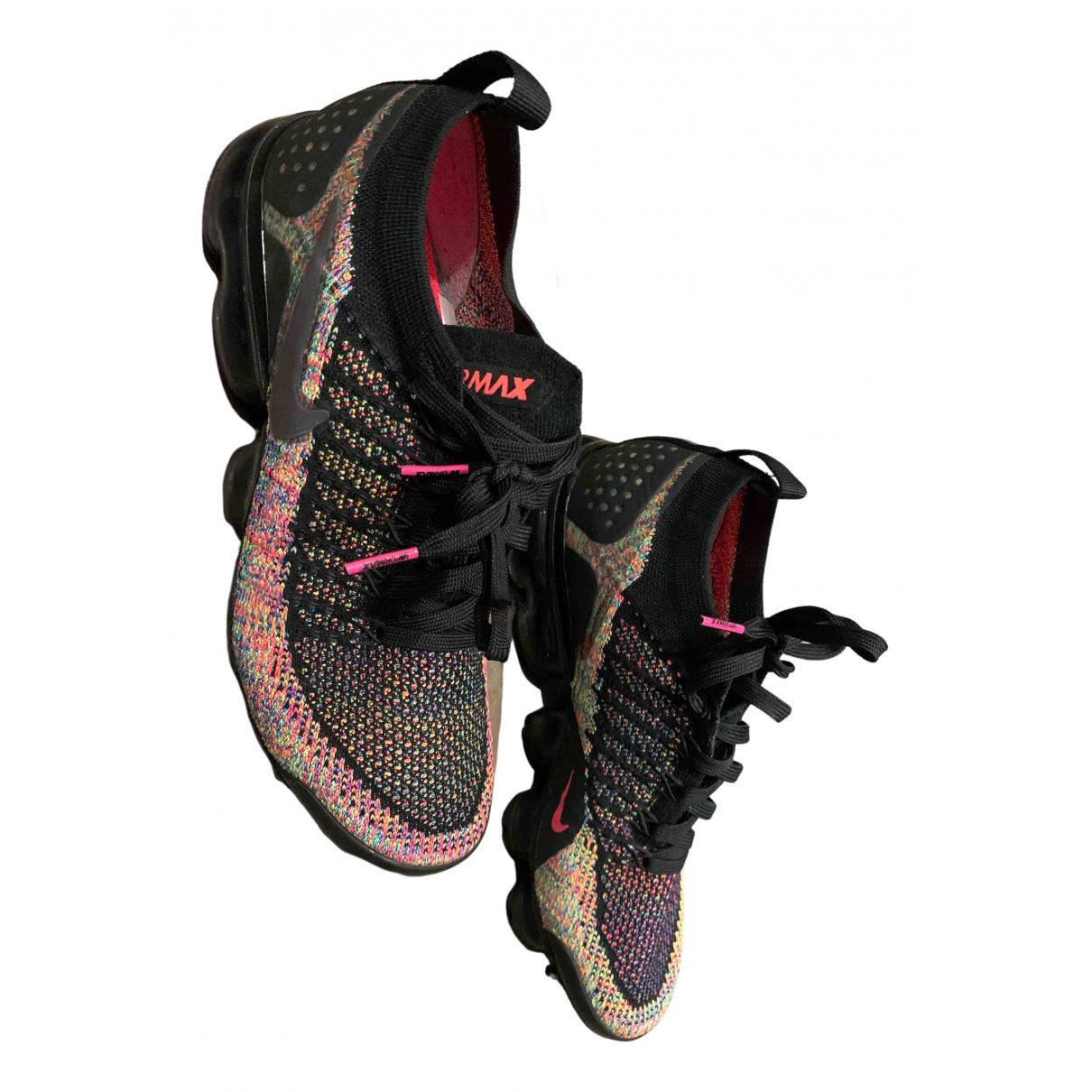 Nike - Baskets Air VaporMax pour femme en toile - multicolore