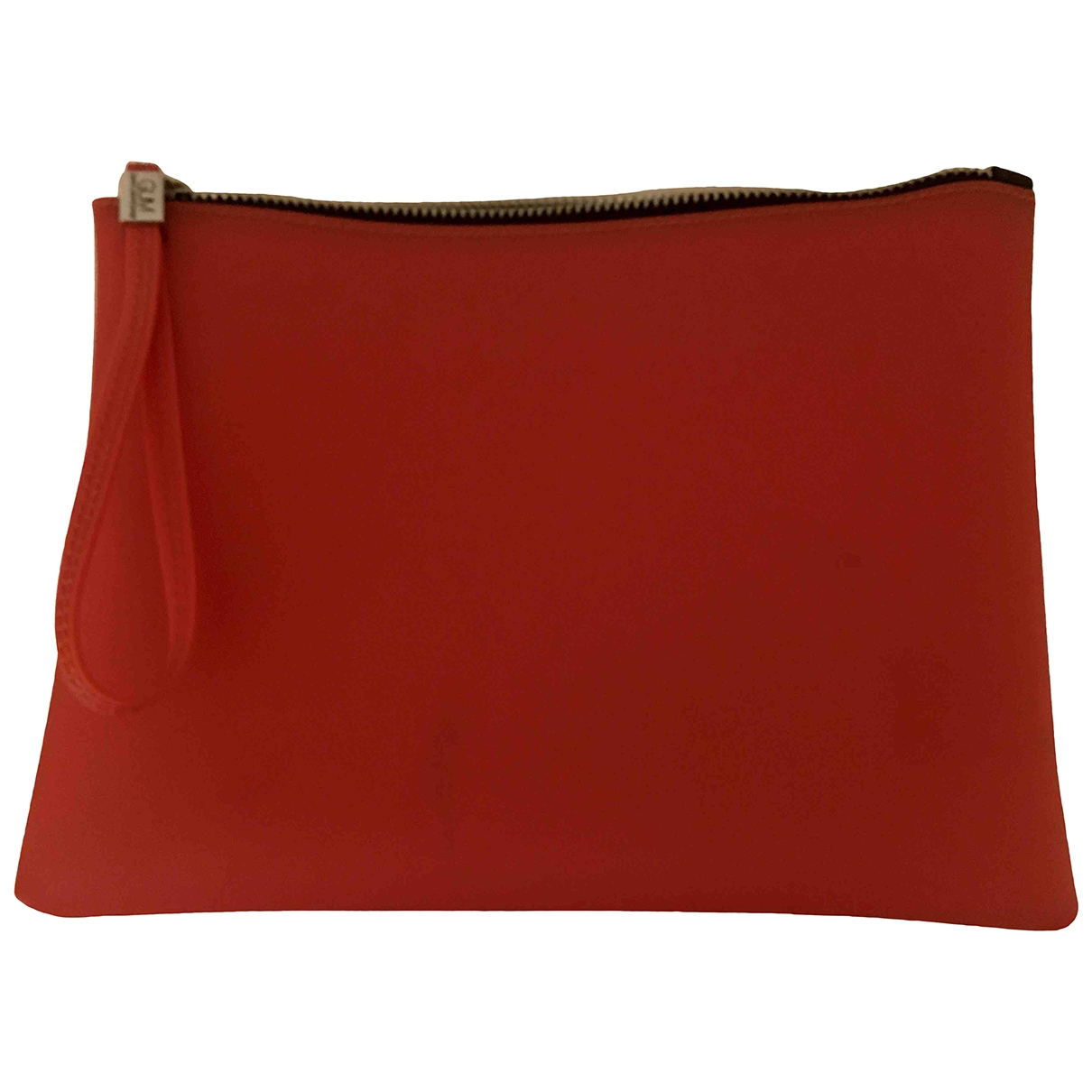 Non Signe / Unsigned \N Clutch in  Orange Synthetik
